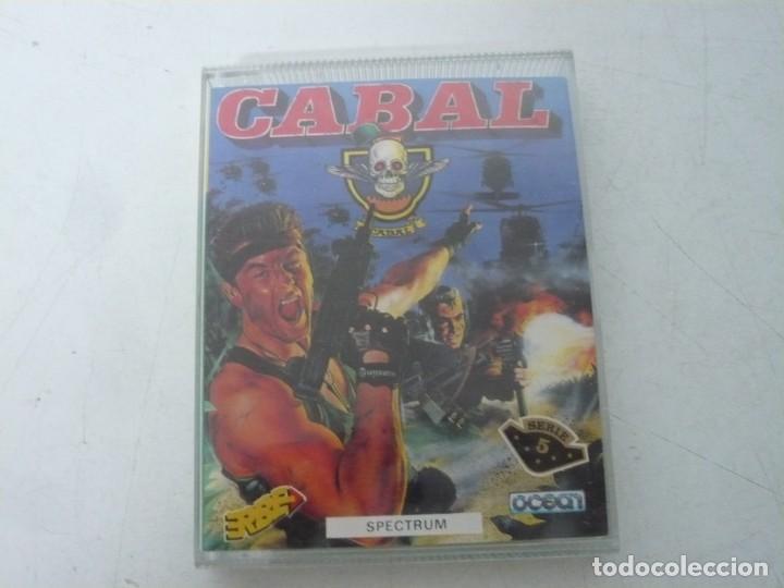 CABAL / JEWELL CASE / SINCLAIR ZX SPECTRUM / RETRO VINTAGE / CASSETTE - CINTA (Juguetes - Videojuegos y Consolas - Spectrum)