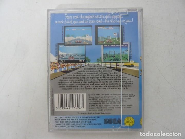 Videojuegos y Consolas: OUT RUN, SPANIS EDITION / JEWELL CASE / SINCLAIR ZX SPECTRUM / RETRO VINTAGE / CASSETTE - CINTA - Foto 2 - 263138145