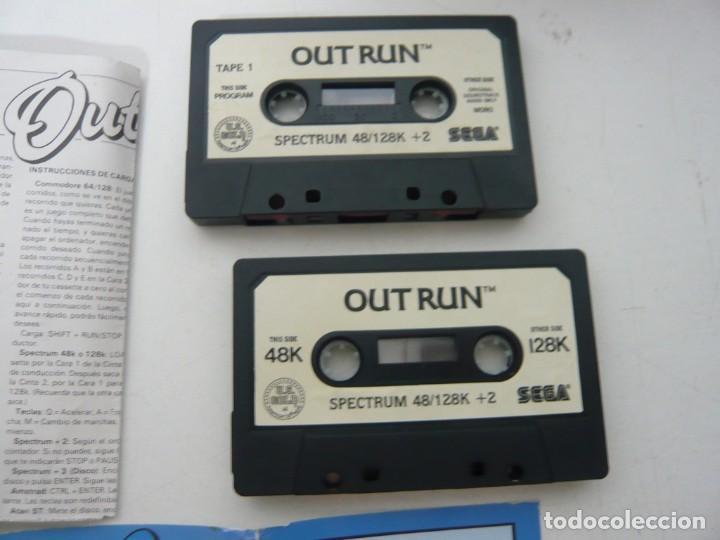 Videojuegos y Consolas: OUT RUN, SPANIS EDITION / JEWELL CASE / SINCLAIR ZX SPECTRUM / RETRO VINTAGE / CASSETTE - CINTA - Foto 4 - 263138145