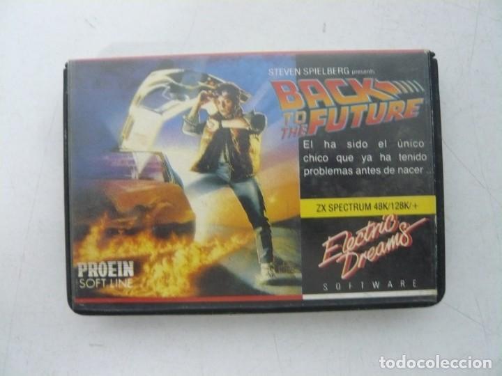 BACK TO THE FUTURE, REGRESO FUTURO / SINCLAIR ZX SPECTRUM / RETRO VINTAGE / CASSETTE - CINTA (Juguetes - Videojuegos y Consolas - Spectrum)