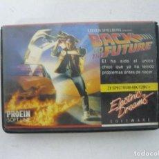 Videojuegos y Consolas: BACK TO THE FUTURE, REGRESO FUTURO / SINCLAIR ZX SPECTRUM / RETRO VINTAGE / CASSETTE - CINTA. Lote 263138955