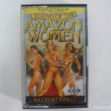 Videojuegos y Consolas: LEGEND OF THE AMAZON WOMEN / JEWELL CASE / SINCLAIR ZX SPECTRUM / RETRO VINTAGE / CASSETTE - CINTA. Lote 263139645