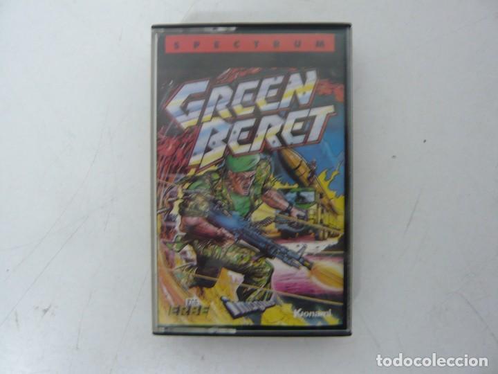 GREEN BERET / JEWELL CASE / SINCLAIR ZX SPECTRUM / RETRO VINTAGE / CASSETTE - CINTA (Juguetes - Videojuegos y Consolas - Spectrum)