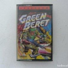 Videojuegos y Consolas: GREEN BERET / JEWELL CASE / SINCLAIR ZX SPECTRUM / RETRO VINTAGE / CASSETTE - CINTA. Lote 263140735