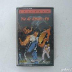 Videojuegos y Consolas: YIE AR KUNG-FU / JEWELL CASE / SINCLAIR ZX SPECTRUM / RETRO VINTAGE / CASSETTE - CINTA. Lote 263141570