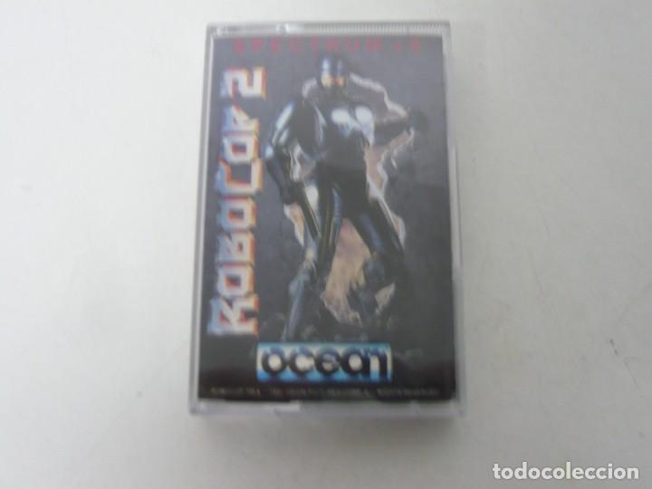 ROBOCOP 2 / JEWELL CASE / SINCLAIR ZX SPECTRUM / RETRO VINTAGE / CASSETTE - CINTA (Juguetes - Videojuegos y Consolas - Spectrum)