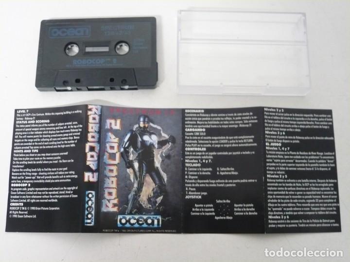 Videojuegos y Consolas: ROBOCOP 2 / JEWELL CASE / SINCLAIR ZX SPECTRUM / RETRO VINTAGE / CASSETTE - CINTA - Foto 3 - 263141945