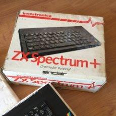 Videojuegos y Consolas: ORDENADOR PERSONAL ZX SPECTRUM + SINCLAIR - INVESTRONICA AÑOS 80. Lote 263532785