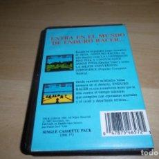 Videojuegos y Consolas: SPECTRUM CINTA CASSETTE ENDURO RACER. ESTUCHE. PROEIN.. Lote 264455599