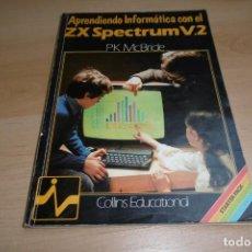 Videojuegos y Consolas: APRENDIENDO INFORMATICA CON EL ZX SPECTRUM VOL 2 INVESTRONICA. Lote 266128363