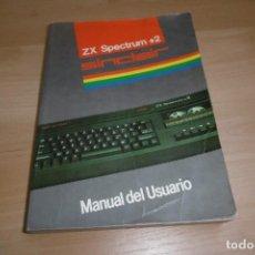 Videojuegos y Consolas: MANUAL DE USUARIO SPECTRUM +2 MODELO +2A. Lote 266129828