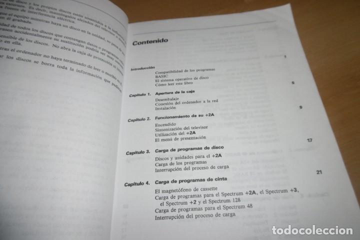 Videojuegos y Consolas: Manual de Usuario Spectrum +2 modelo +2A - Foto 4 - 266129828