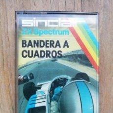 Videogiochi e Consoli: BANDERA A CUADROS SPECTRUM. Lote 267797399