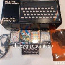 Videojuegos y Consolas: PERSONAL COMPUTER. SINCLAIR ZX SPECTRUM. 16K RAM. LOTE COMO NUEVO. VER FOTOS. Lote 268025739