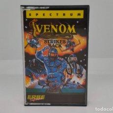 Videojuegos y Consolas: VENOM: STRIKES BACK, SPECTRUM, ERBE SOFTWARE. Lote 268132549