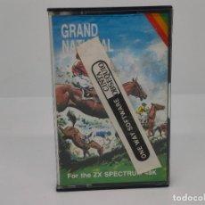 Videojuegos y Consolas: GRAND NATIONAL, SPECTRUM, CRL. Lote 268135194