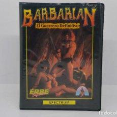 Videojuegos y Consolas: BARBARIAN, SPECTRUM, ERBE SOFTWARE. Lote 268138304