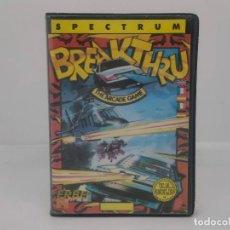 Videojuegos y Consolas: BREAKTHRU, SPECTRUM, ERBE SOFTWARE. Lote 268144434