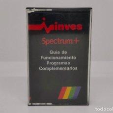 Videojuegos y Consolas: GUIA DE FUNCIONAMIENTO, PROGRAMAS COMPLEMENTARIOS, SPECTRUM, INVES. Lote 268133129