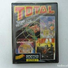 Videojuegos y Consolas: PACK TOTAL / SPECTRUM / SINCLAIR ZX SPECTRUM / RETRO VINTAGE / DISCO. Lote 268745774
