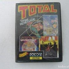 Videojuegos y Consolas: PACK TOTAL - VARIOS JUEGOS / SPECTRUM / SINCLAIR ZX SPECTRUM / RETRO VINTAGE / CASSETTE. Lote 268747194