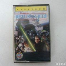 Videojuegos y Consolas: STAR WARS, RETORNO DEL JEDI / SPECTRUM / SINCLAIR ZX SPECTRUM / RETRO VINTAGE / CASSETTE. Lote 268752224