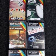 Videojuegos y Consolas: LOTE 6 JUEGOS SPECTRUM. Lote 268926374