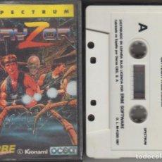 Videogiochi e Consoli: GRYZOR CASSETTE VIDEOJUEGO SPECTRUM 1987 KONAMI. Lote 268953564