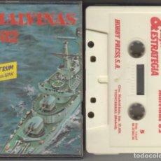 Videojuegos y Consolas: MALVINAS 82 CASSETTE VIDEOJUEGO SPECTRUM 1986. Lote 268953814