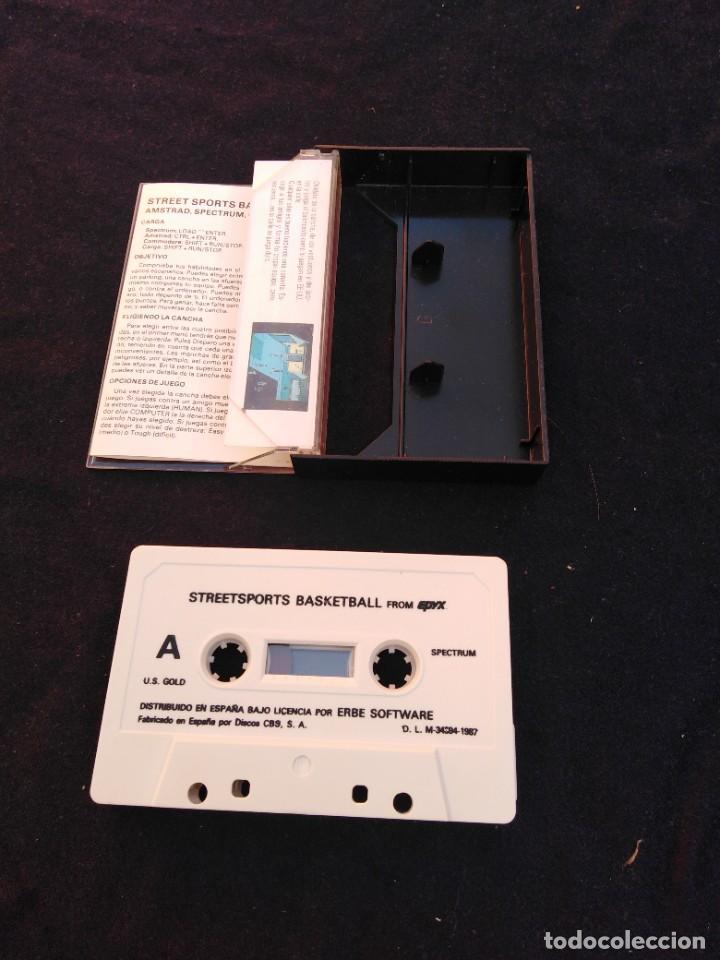 Videojuegos y Consolas: Juego Spectrum Street Sports Basketball - Foto 2 - 268989119
