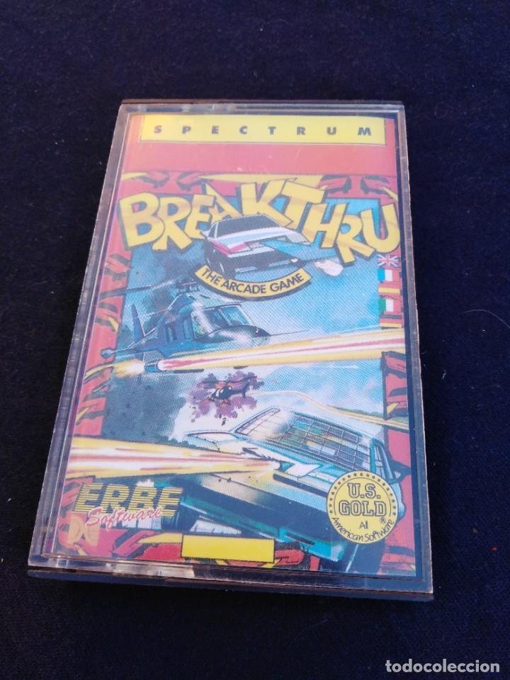 Videojuegos y Consolas: Juego Spectrum Breakthru. The arcade game - Foto 3 - 268989509