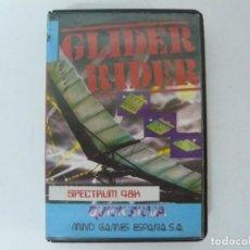 Videojuegos y Consolas: GLIDER RIDER / SPECTRUM / SINCLAIR ZX SPECTRUM / RETRO VINTAGE / CASSETTE. Lote 269104138