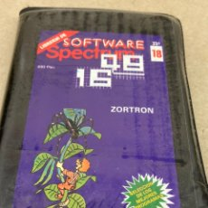 Videojuegos y Consolas: CINTA JUEGO SPECTRUM ZORTRON. Lote 269115478