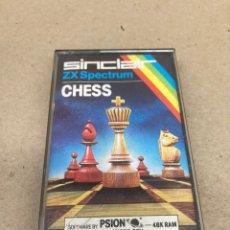 Videojuegos y Consolas: CINTA ZX SPECTRUM CHESS 48K 1983. Lote 269116353