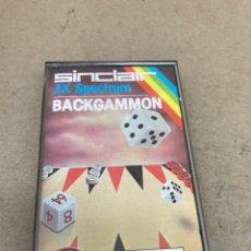 Videojuegos y Consolas: CINTA ZX SPECTRUM BACKGAMMON 1983. Lote 269117218