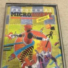 Videojuegos y Consolas: CINTA PROGRAMA MICROHOBBY 1983. Lote 269118208