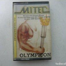 Videojuegos y Consolas: OLYMPICON / SINCLAIR ZX SPECTRUM / RETRO VINTAGE / CASSETTE. Lote 269120693