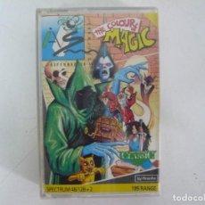 Videojuegos y Consolas: THE COLOUR OF MAGIC / SINCLAIR ZX SPECTRUM / RETRO VINTAGE / CASSETTE. Lote 269120768