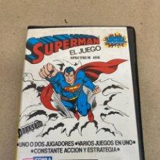Videojuegos y Consolas: CINTA SPECTRUM 48K SUPERMAN 1983. Lote 269124188