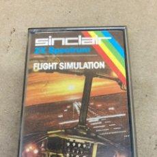Videojuegos y Consolas: CINTA ZX SPECTRUM FLIGHT SIMULATION. Lote 269129418