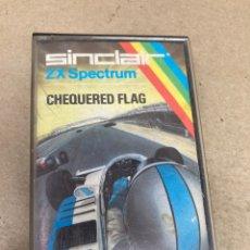 Videojuegos y Consolas: CINTA CHEQUERED FLAG. Lote 269132013