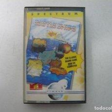 Videogiochi e Consoli: BATTLE SHIPS / SINCLAIR ZX SPECTRUM / RETRO VINTAGE / CASSETTE. Lote 269354293