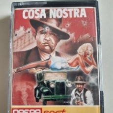 Videojuegos y Consolas: CASETE JUEGO SPECTRUM COSA NOSTRA OPERA SOFT AÑO 1986. Lote 269367643