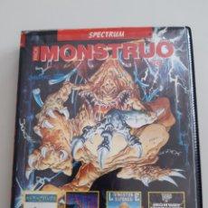 Videojuegos y Consolas: JUEGO SPECTRUM PACK MONSTRUO AÑO 1987 SOLO CINTA 1 LIVINGSTONE SUPONGO HIGHWAY ENCOUNTER. Lote 269386488