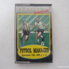 Videojuegos y Consolas: FUTBOL MANAGER / SINCLAIR ZX SPECTRUM / RETRO VINTAGE / CASSETTE. Lote 269697558