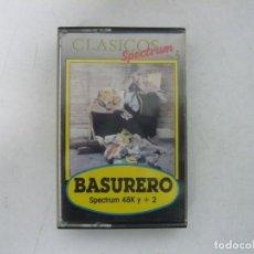Videojuegos y Consolas: BASURERO / SINCLAIR ZX SPECTRUM / RETRO VINTAGE / CASSETTE. Lote 269698618