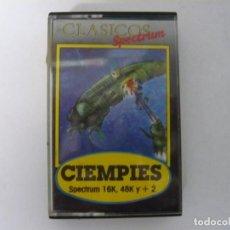 Videojuegos y Consolas: CIEMPIES / SINCLAIR ZX SPECTRUM / RETRO VINTAGE / CASSETTE. Lote 269698998