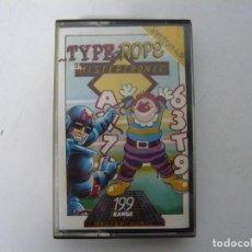Videojuegos y Consolas: TYPE ROPE / SINCLAIR ZX SPECTRUM / RETRO VINTAGE / CASSETTE. Lote 269699603