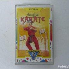 Videojuegos y Consolas: SHANGAI KARATE / SINCLAIR ZX SPECTRUM / RETRO VINTAGE / CASSETTE. Lote 269700313