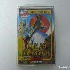Videojuegos y Consolas: NINJA MASTER / SINCLAIR ZX SPECTRUM / RETRO VINTAGE / CASSETTE. Lote 269702103